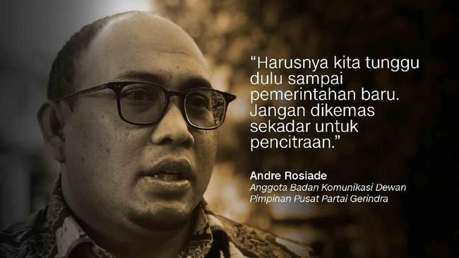 Andre Rosiade, Anggota Badan Komunikasi Dewan Pimpinan Pusat Partai Gerindra.
