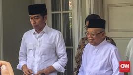 Jokowi-Ma'ruf Diklaim Tak Akan Menyerang di Debat Perdana