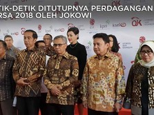 Mengintip Jokowi Menutup Perdagangan Bursa