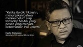 Hasto Kristiyanto, Sekretaris TKN Jokowi-Ma'ruf Amin.