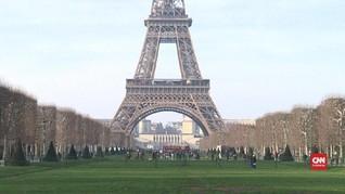 VIDEO: Paris Ramai Pengunjung Meski Sempat Rusuh