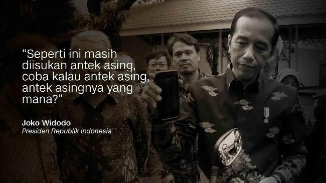 Joko Widodo, Presiden Republik Indonesia.