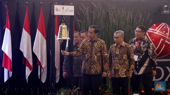 Presiden Joko Widodo membanggakan capaian ekonomi 2018. Optimisme masih ada di tengah gejolak ekonomi global.