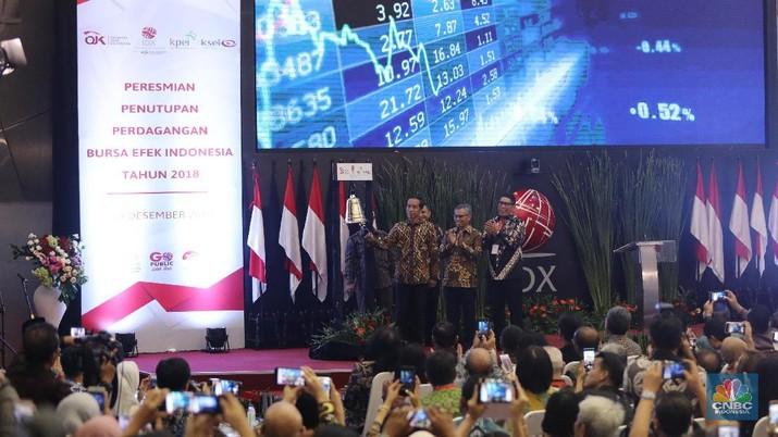 Jokowi Bangga Kinerja IHSG Terbaik Kedua di Dunia