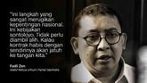Fadli Zon, Wakil Ketua Umum Partai Gerindra.
