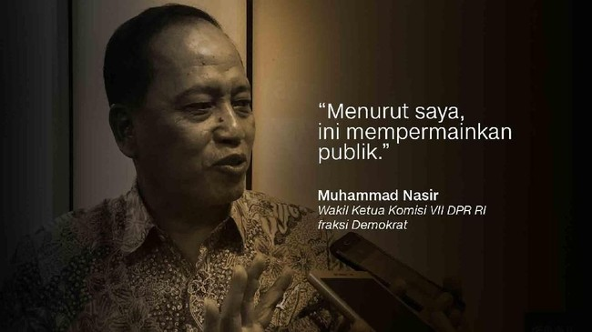 Muhammad Nasir, Wakil Ketua Komisi VII DPR RI fraksi Demokrat.