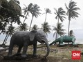 FOTO : Menaruh Harapan pada Laut Usai Tsunami Selat Sunda