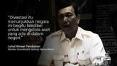 Luhut Binsar Pandjaitan, Menteri Koordinator Bidang Kemaritiman.