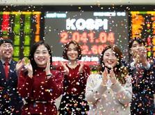 Bursa Saham Asia Rebound Setelah Koreksi Dalam