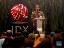Jokowi dapat Bisikan IHSG Terbaik ke-2 Dunia, Lho Faktanya?