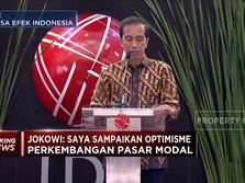 Jokowi: Optimisme di Bursa Bukti Transisi Ekonomi Terjadi