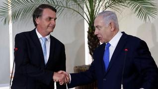 Bertemu PM Israel, Presiden Brasil Tak Bicarakan Kedutaan
