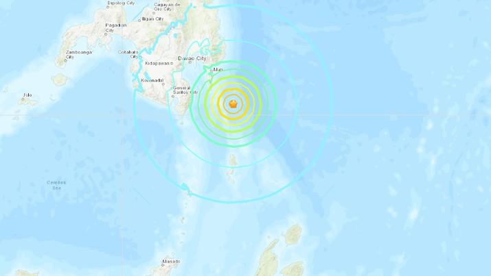 BMKG memastikan tak ada potensi tsunami.