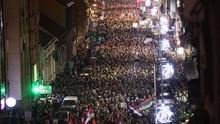 Lebih dari 10 Ribu Demonstran Tuntut Kebebasan Pers di Serbia