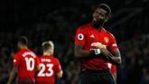 Paul Pogba tampil gemilang sejak dilatih Ole Gunnar Solskjaer dengan menciptakan empat gol dan tiga assist dalam tiga pertandingan terakhir. (Reuters/Jason Cairnduff)