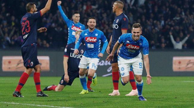 Napoli Jumpa Milan di Perempat Final Coppa Italia
