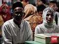 Cerita Pasangan Tertua dan Termuda di Acara Nikah Massal