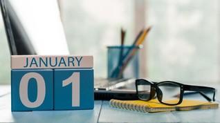 Asal-usul 1 Januari Jadi Tanggal Tahun Baru