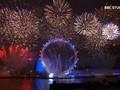 VIDEO: Perayaan Tahun Baru 2019 di Pinggir Sungai Thames