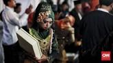 Nikah massal baru mulai digelar oleh Pemprov DKI sebagai salah satu perayaan malam tahun baru pada tahun ini.(CNN Indonesia/Andry Novelino)