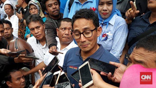 Kritisi Infrastruktur Jokowi, Sandi Gunakan Data Bank Dunia