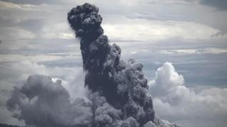 PVMBG: Ada Enam Kali Kegempaan Gunung Anak Krakatau