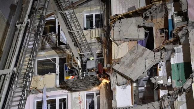 Temuan tersebut memperkuat dugaan ledakan terjadi akibat kebocoran gas. (Russia's Ministry for Civil Defence, Emergencies and Elimination of Consequences of Natural Disasters/Handout via Reuters)