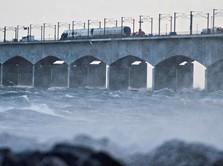 Tragis, Angin Kencang Picu Kecelakaan Kereta di Denmark