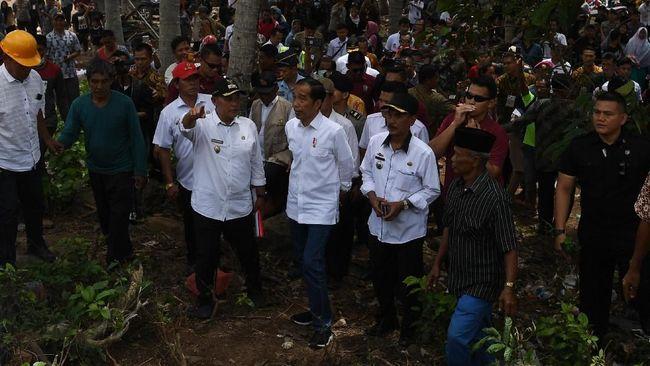 Jokowi Beri Tenggat Relokasi Pesisir Lampung Tiga Bulan
