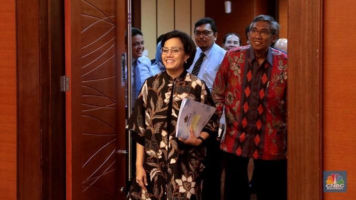 Pencapaian APBN 2018, diklaim Menteri Keuangan Sri Mulyani Indrawati positif.