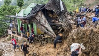 Longsor di Banjarnegara, Satu Orang Tewas Tertimbun