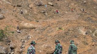 Korban Tewas Longsor Sukabumi Bertambah, 15 Belum Ditemukan