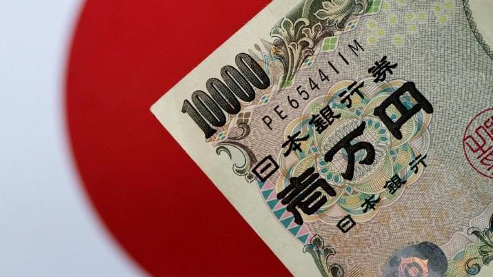 Inflasi Terendah, Yen Terkapar Lawan Dolar AS