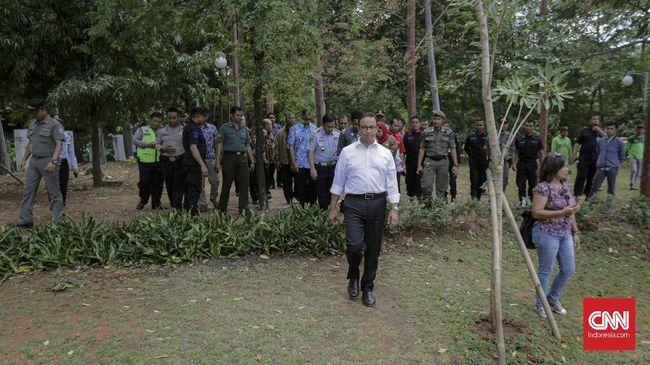 Revitalisasi Taman di DKI Jakarta Sedot Anggaran Rp140 Miliar