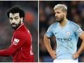 Adu Tajam Aguero-Salah Jelang Man City vs Liverpool