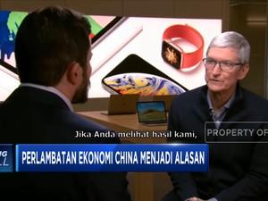Pangkas Proyeksi Pendapatan, Saham Apple Terjun Bebas