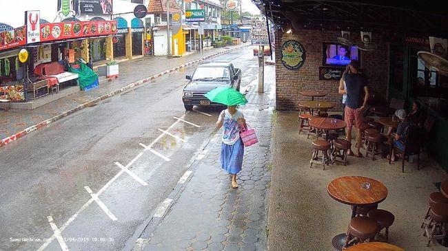 Badai Mendekat, Ribuan Warga Thailand Cari Perlindungan