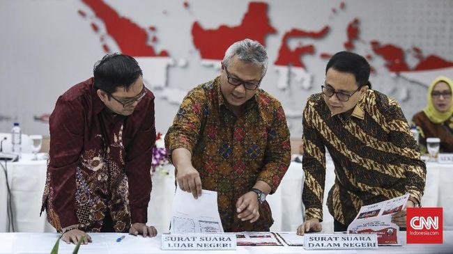 Surat Suara Pemilu 2019 Dicetak, KPU Larang Peserta Komplain