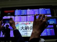 Kabar dari Vietnam Angkat Bursa Saham Jepang