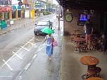 Badai Pabuk Ancam Thailand, Ribuan Wisatawan Mengungsi