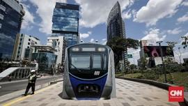 MRT Jakarta Berpotensi Raup Omzet Rp39 Miliar per Bulan