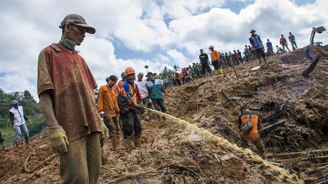 Tim SAR Gabungan Temukan Jasad ke-32 Korban Longsor Sukabumi