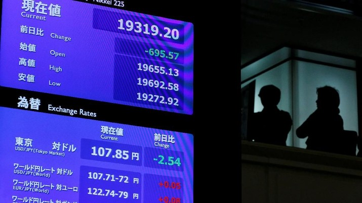The Fed Kian Dovish, Bursa Jepang Dibuka Menguat