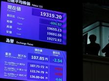 Dorongan Reli Wall Street Panaskan Bursa Jepang