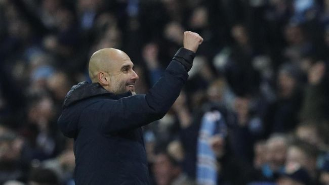Man City Kalahkan Burton 9-0, Guardiola Cetak Rekor