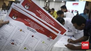 KPU Mulai Cetak Surat Suara Pemilu 2019 Secara Masif Hari Ini