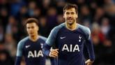 Di musim ini Fernando Llorente baru mencetak empat gol dalam 11 pertandingan di semua kompetisi. Selain tiga gol di Piala FA, satu gol lain Llorente dicetak di Piala Liga Inggris.(Action Images via Reuters/Carl Recine)