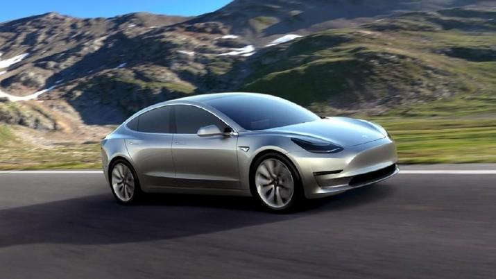 Tesla Jual Varian Model 3 dengan Stir Kiri untuk Eropa