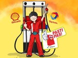 Ini Perbandingan Harga BBM di Pertamina, Shell dan Total