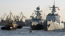 China Bikin Kapal Perang hingga Rusia Tawarkan S-400 ke Saudi